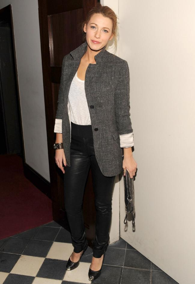 pantaloni piele+jacheta gri