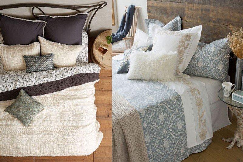 Idei de decorare a patului tendinte moda - Decorar cojines ...