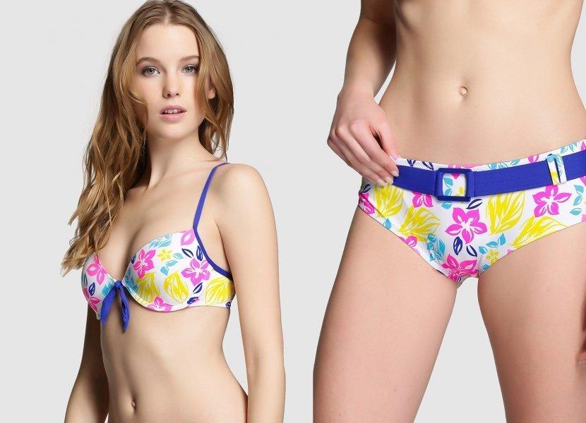 bikini inflorat