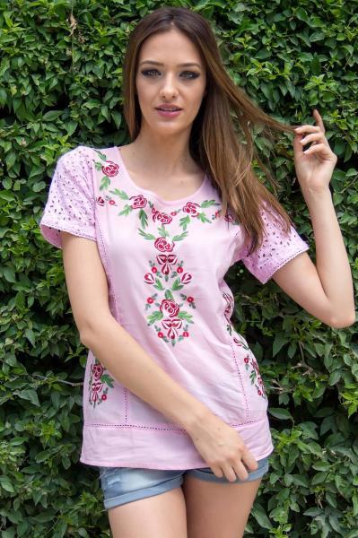 bluza-femei-roz-cu-broderie-roh-roh-1
