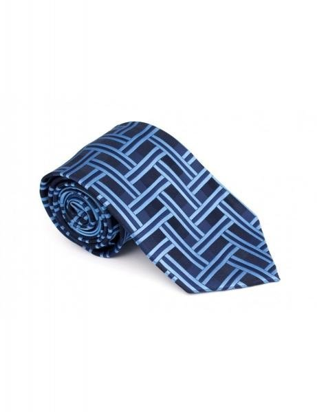 cravata-clasica-albastra-cu-model-grazie-filipeti-grazie-filipeti