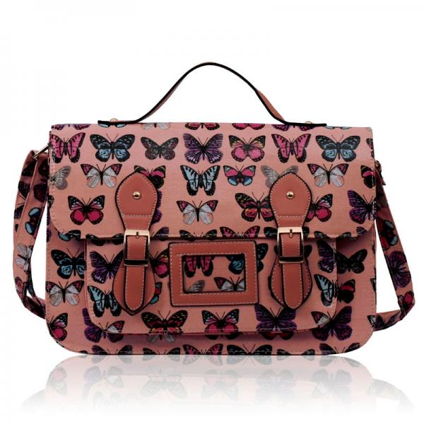 geanta-moderna-tip-servieta-roz-cu-fluturi-multicolori-1-1