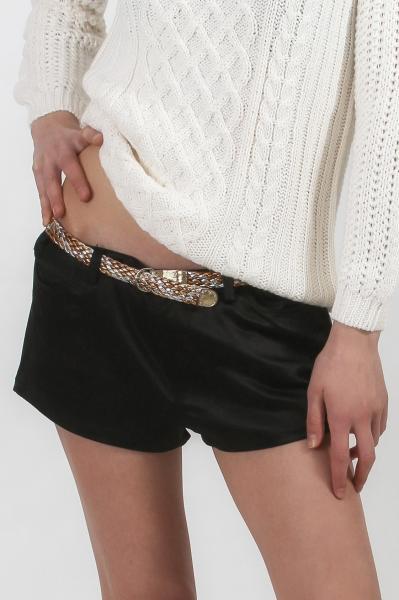pantaloni-scurti-zara-shiny