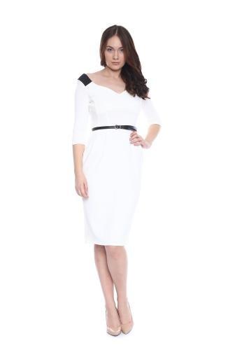 rochie-alba-conica-am-10141-ama-fashion