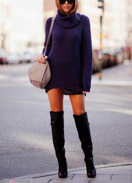rochia pulover ce se poarta 2