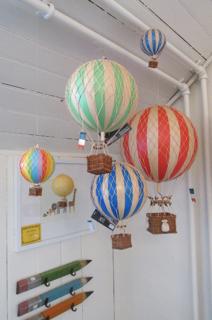mini baloane cu aer cald