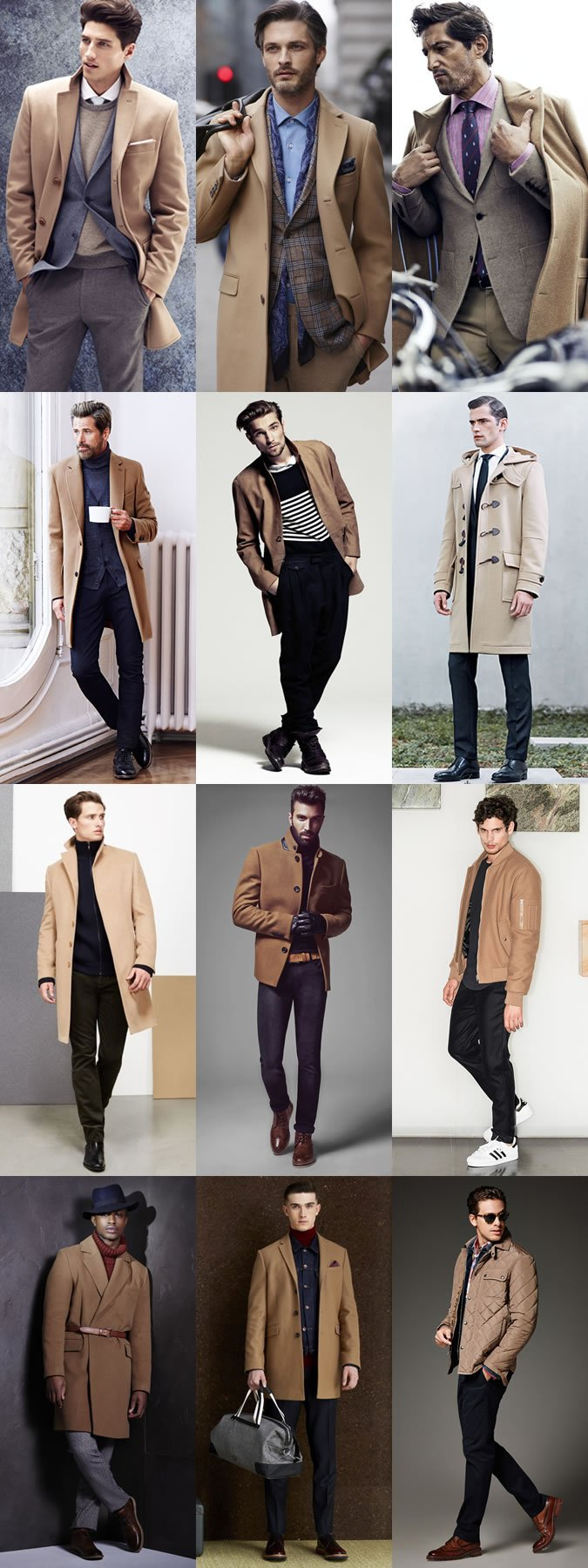 palton bej camila ce se poarta toamna iarna