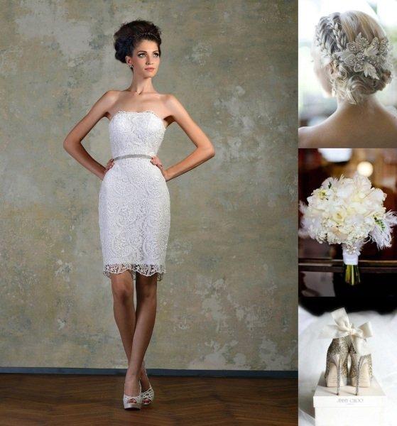 rochie de mireasa atipica 2