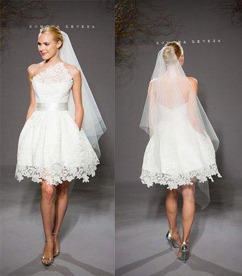 rochie de mireasa atipica 3