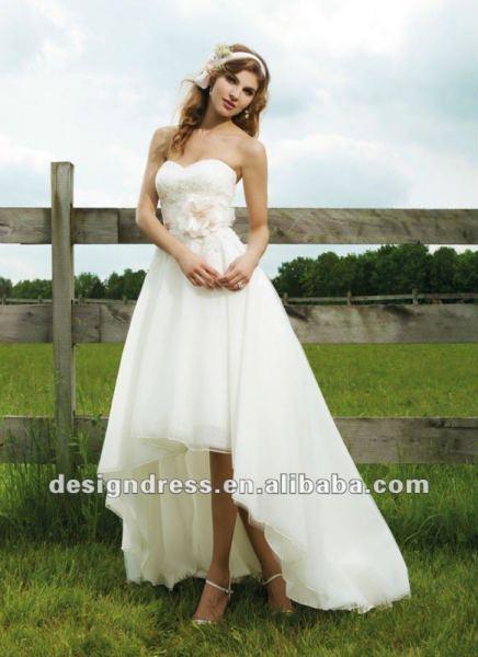 rochie de mireasa atipica 6
