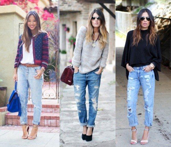pantaloni boyfriend jeans