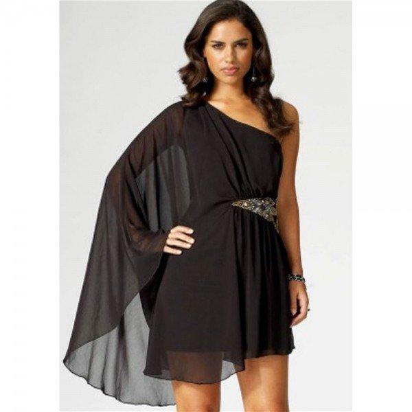 rochie cu un umar