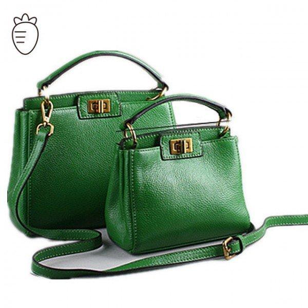 geanta verde