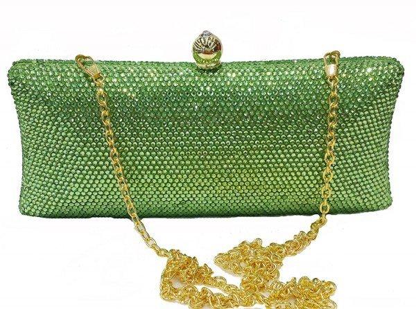 geanta verde plic