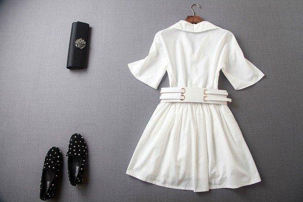 rochie camasa femei