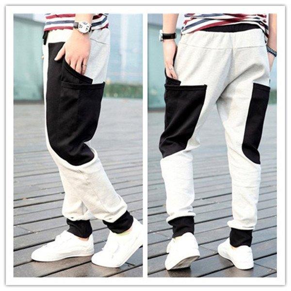 pantaloni largi sport
