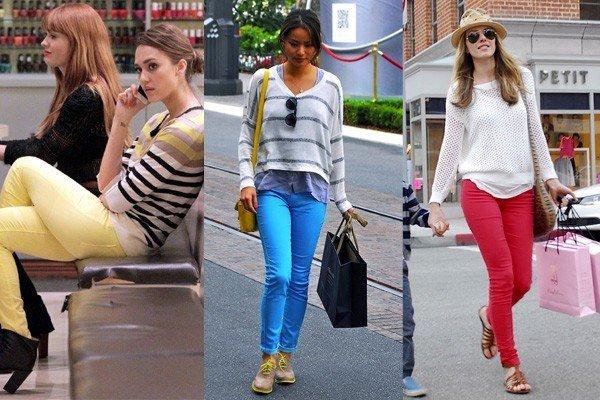 pantaloni colorati1