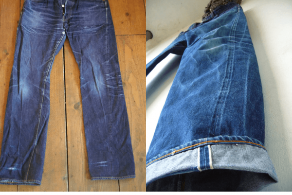 pantaloni rasuciti