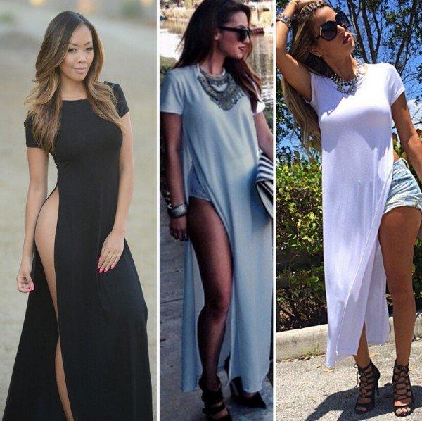 rochii alb negru 2015 2