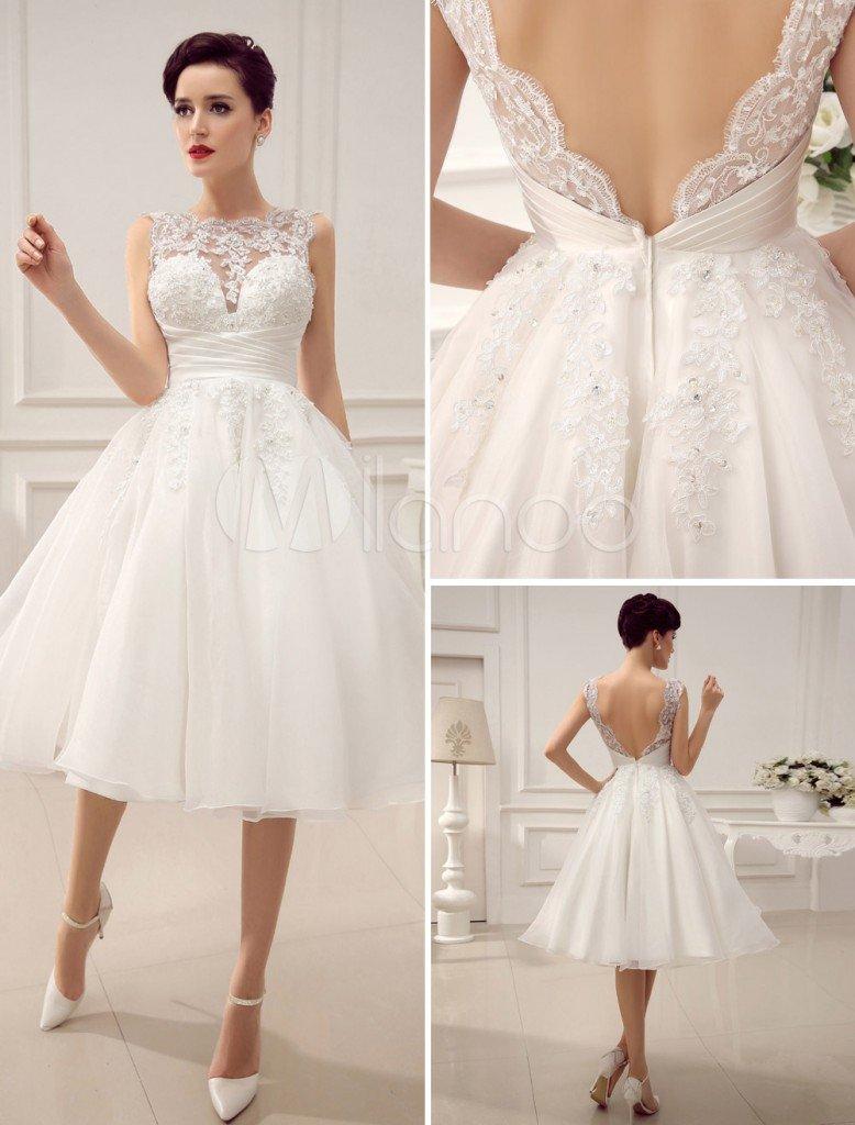 rochie de mireasa scurta2