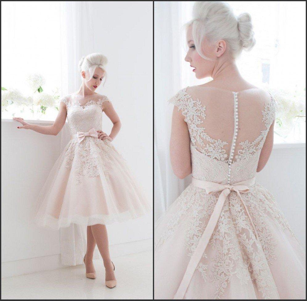 rochie de mireasa scurta3