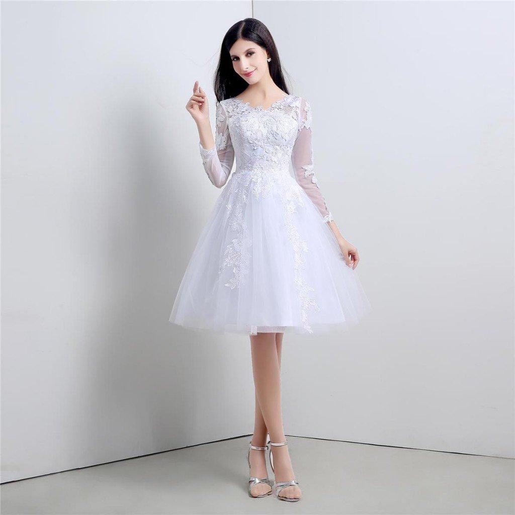 rochie de mireasa scurta5