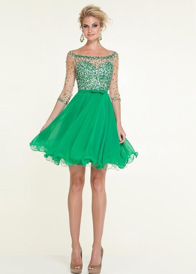 rochie verde1