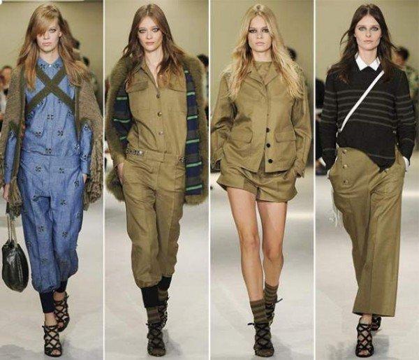 stilul militar pentru femei2