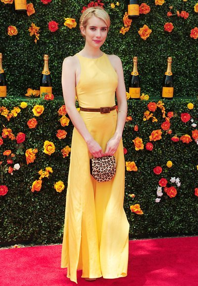 New York, NY - 05/30/2015 -The 8th Annual Veuve Clicquot Polo Classic returns in Support of City Harvest. -PICTURED: Emma Roberts -PHOTO by: Fernando Lucena/startraksphoto.com -LUC_126075.JPG Startraks Photo New York, NY For licensing please call 212-414-9464 or email sales@startraksphoto.com Startraks Photo reserves the right to pursue unauthorized users of this image. If you violate our intellectual property you may be liable for actual damages, loss of income, and profits you derive from the use of this image, and where appropriate, the cost of collection and/or statutory damages.