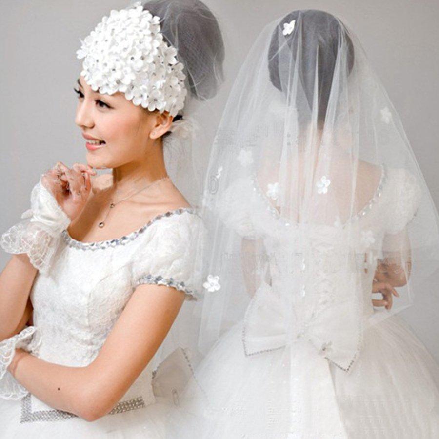 coafuri nunta cu voal