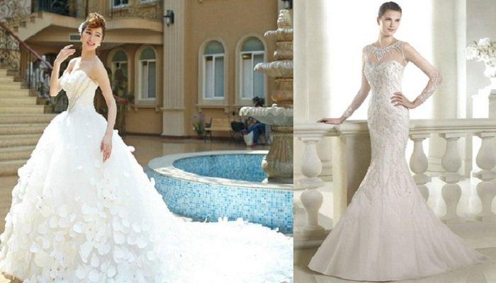 glamorous rochie de mireasa