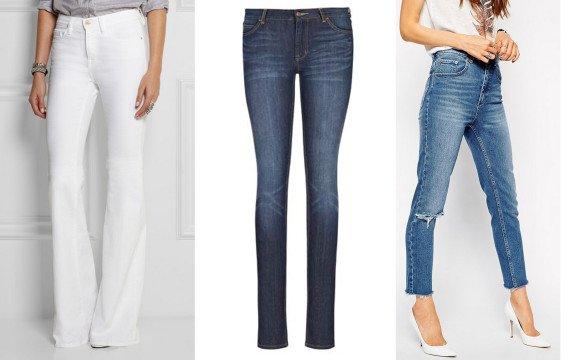 pantaloni fete inalte