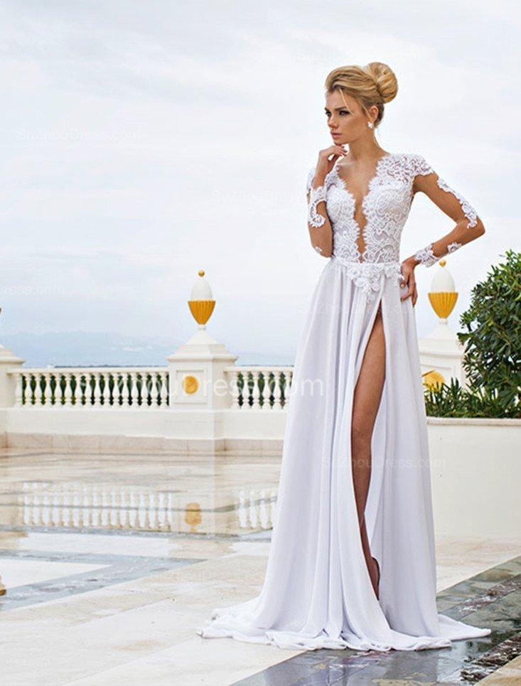 sexy rochie de mireasa