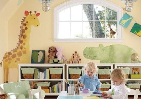 cum sa decorezi camera copilului5