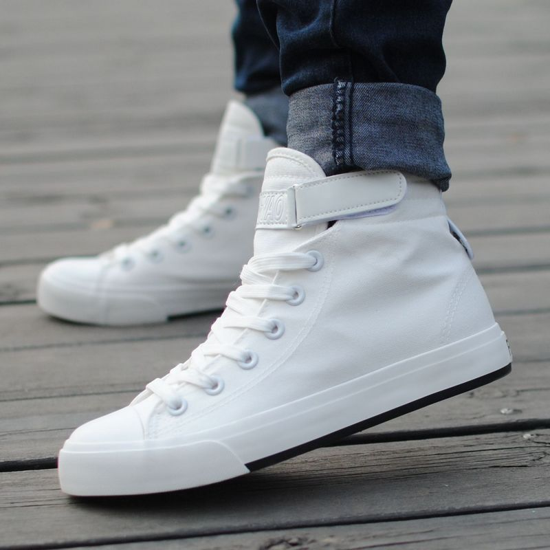 pantofi albi barbati