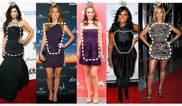 cum sa alegi o rochie in functie de forma corpului