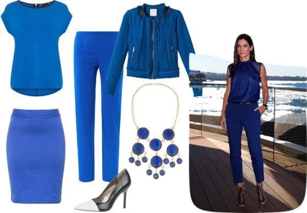 Albastru cobalt - sfaturi de purtare
