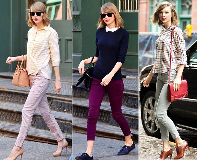 Lecții de stil de la Taylor Swift