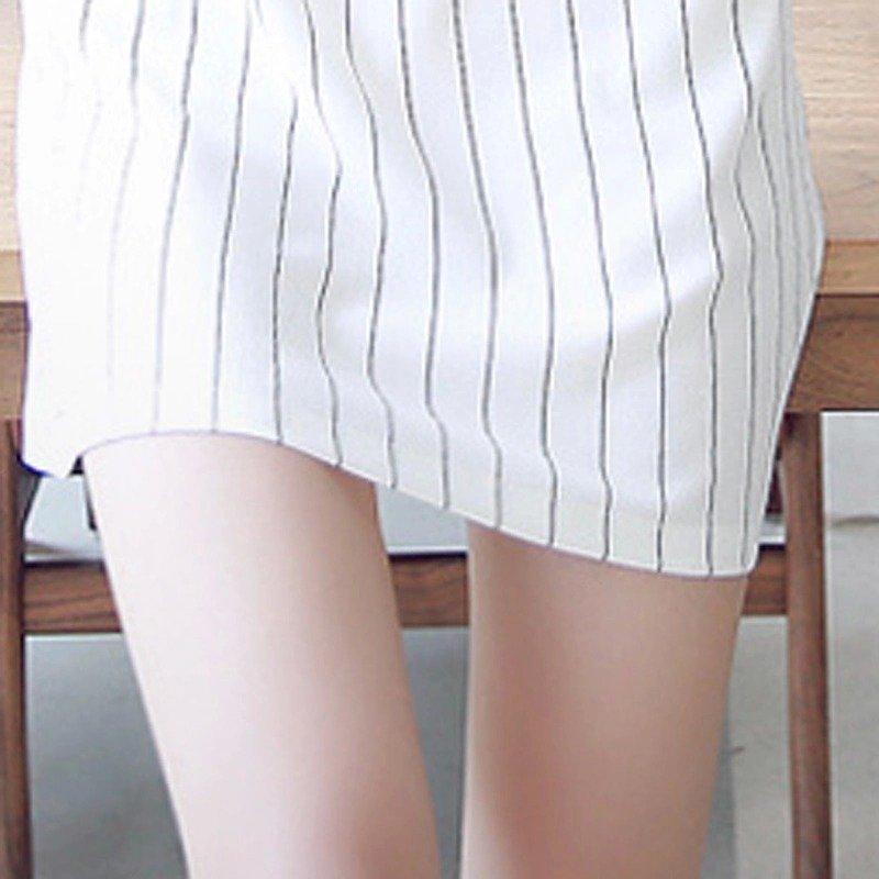 Modele rochii cu dungi care se poartă2