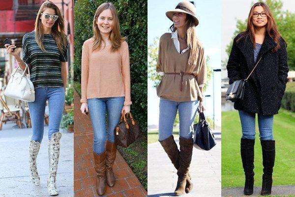 5 moduri fabuloase în care poți purta blugii skinny toamna