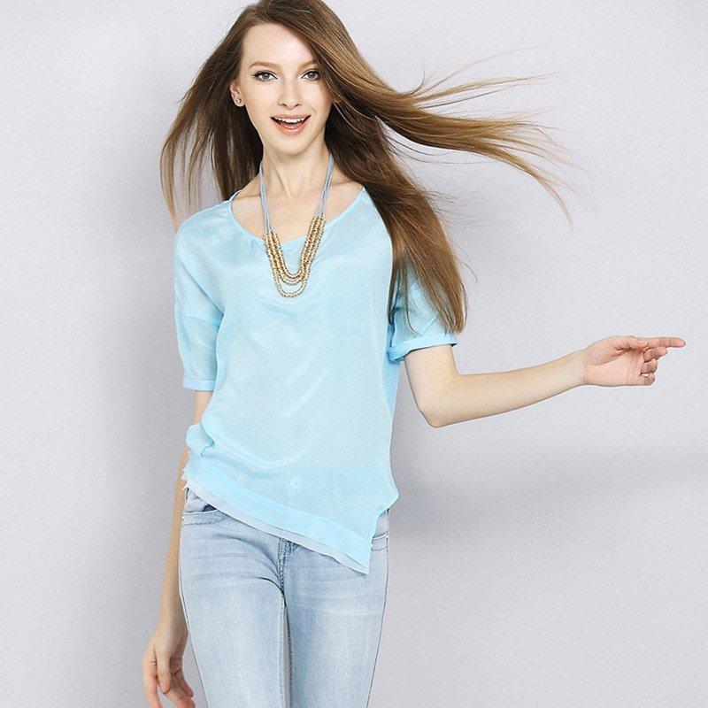Ghid de stil bluza transparentă3