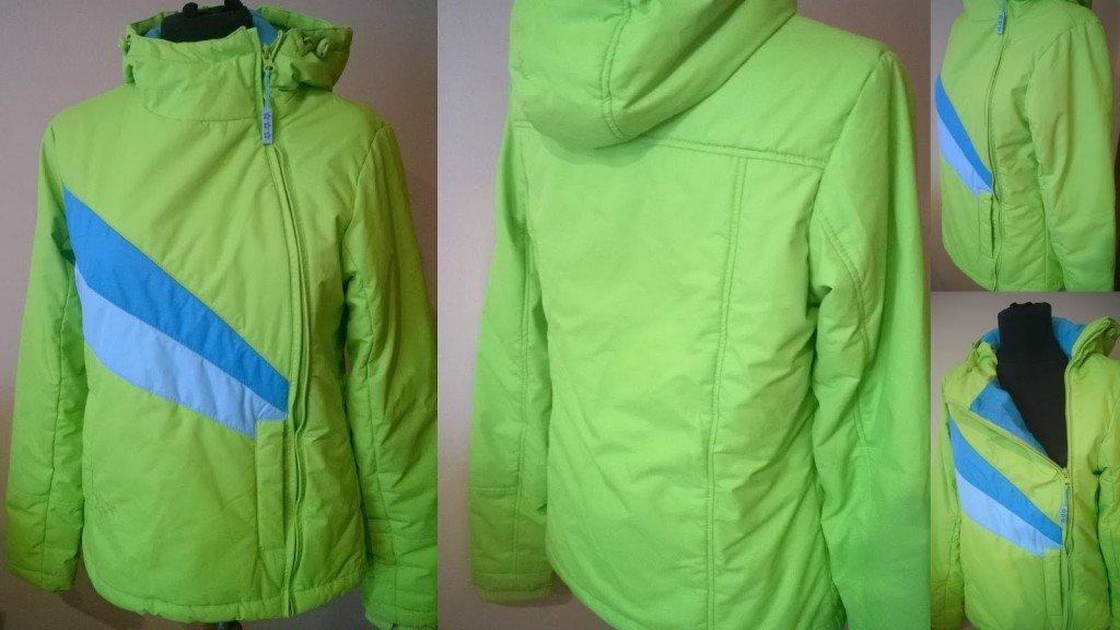 jacheta cu fermoar pe o parte
