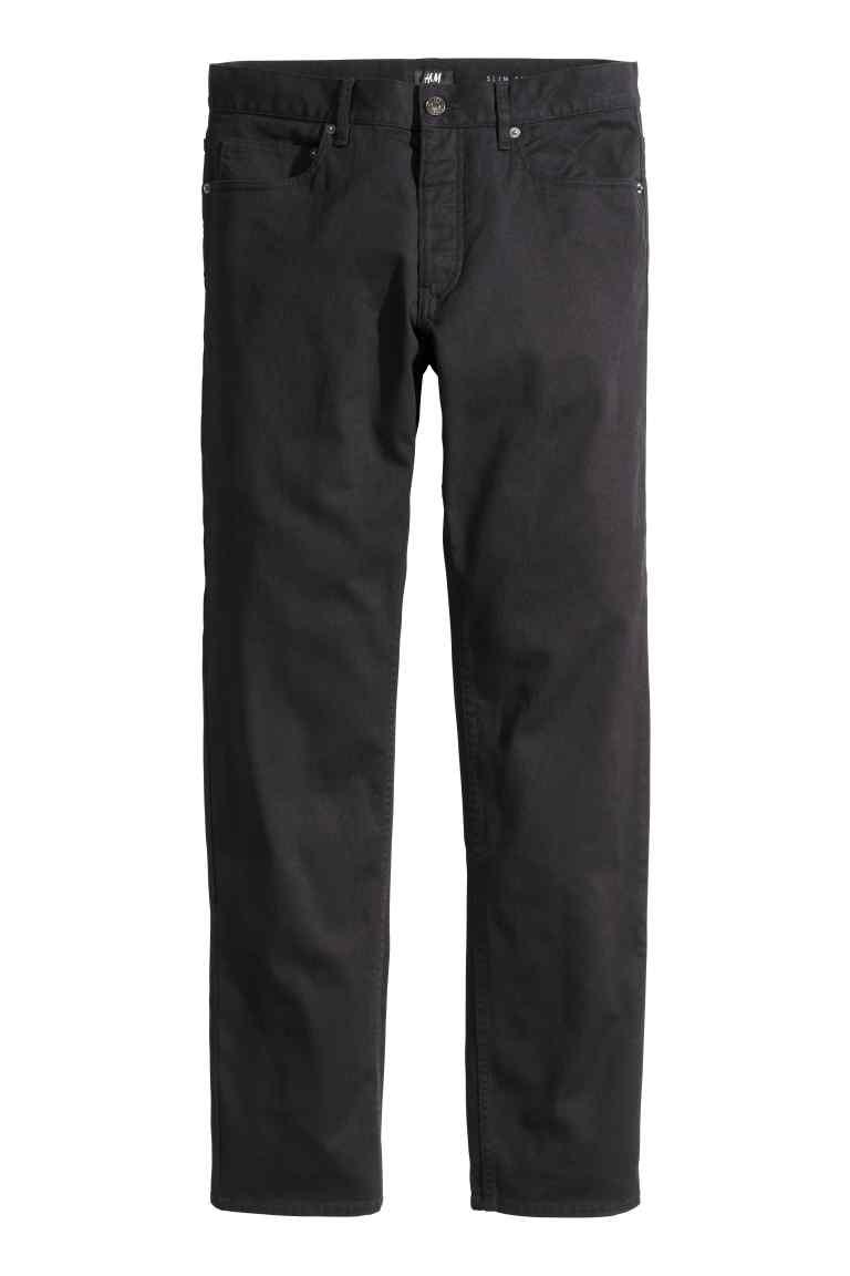 pantaloni twill