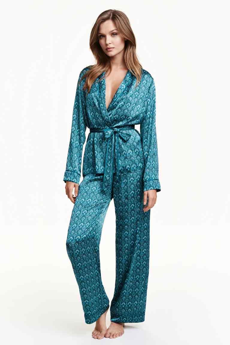 pijama satin