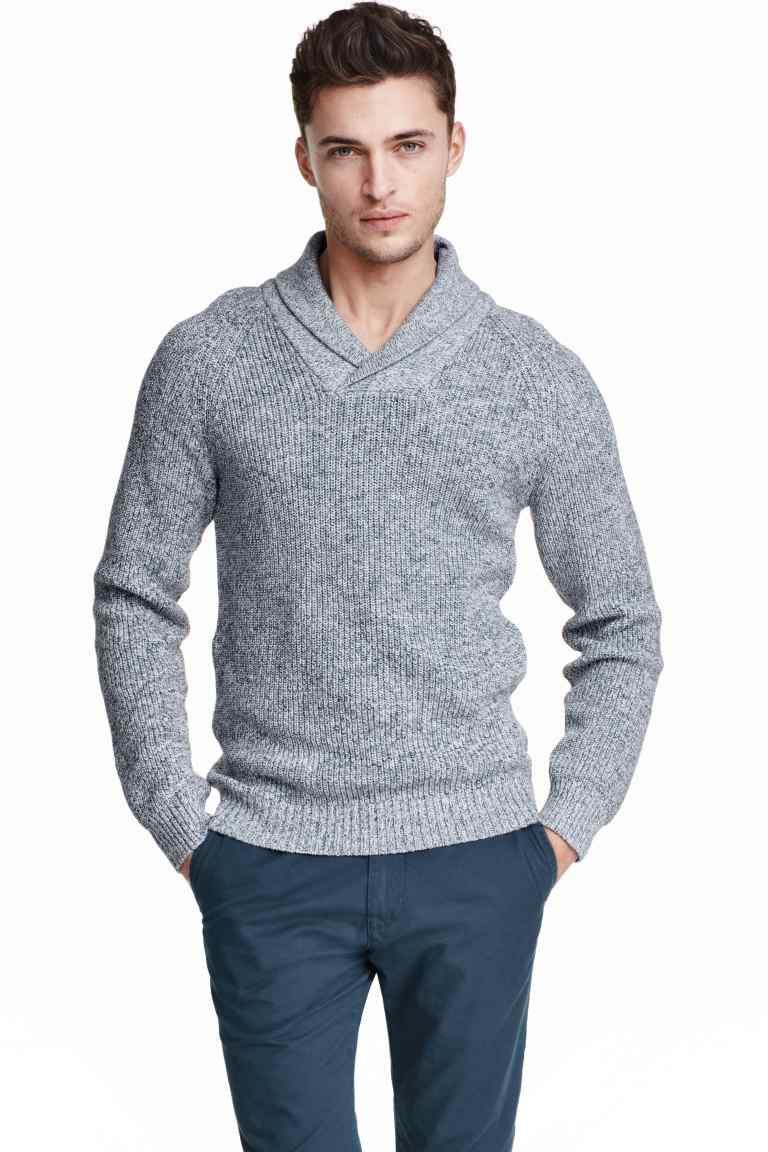 pulover cu guler sal
