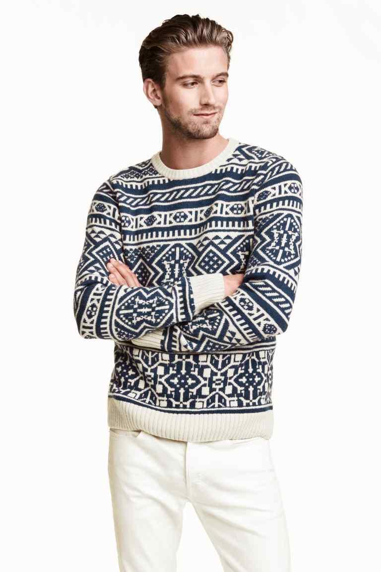 pulover jacard