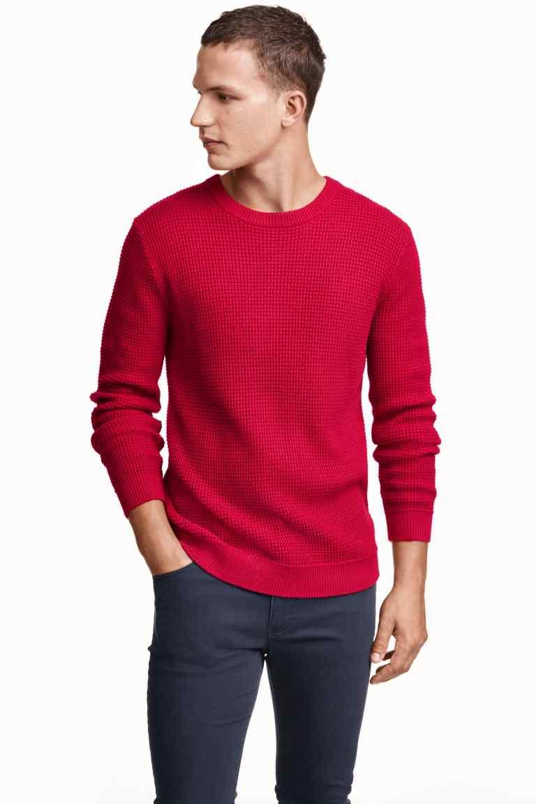 pulover tricotat grofat