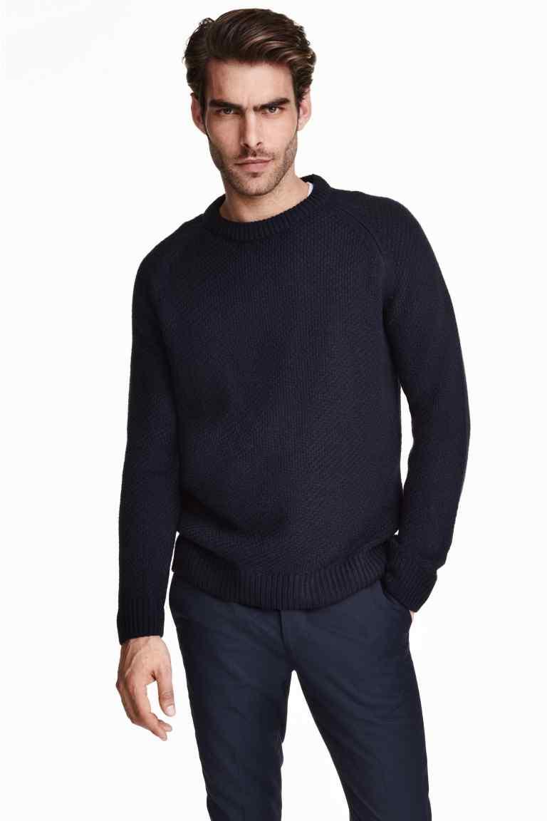 pulover tricotat texturat