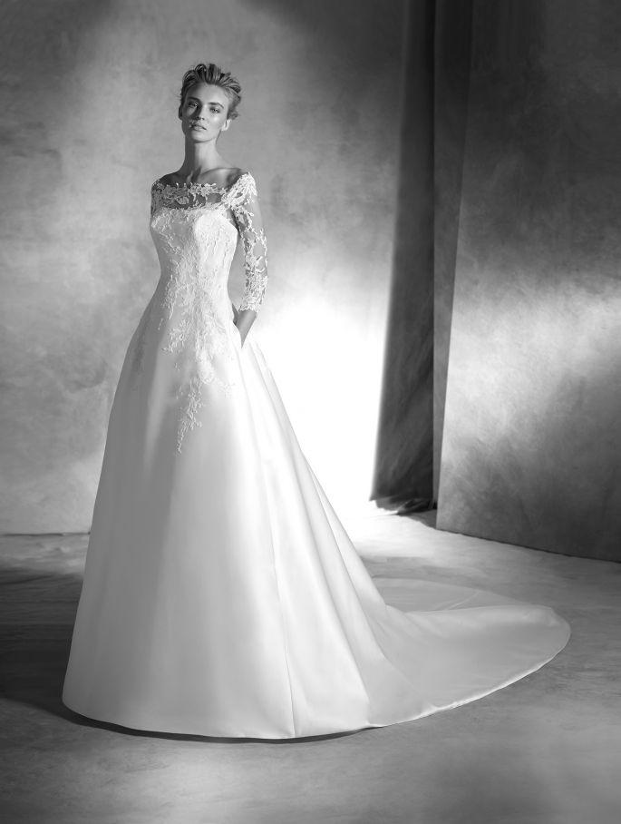 rochie de mireasa pronovias 2016
