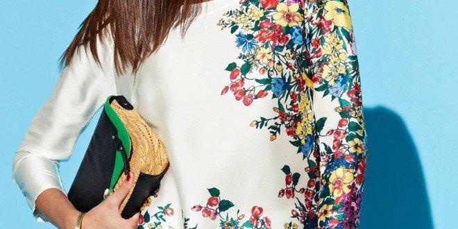 bluza cu imprimeu floral 2016
